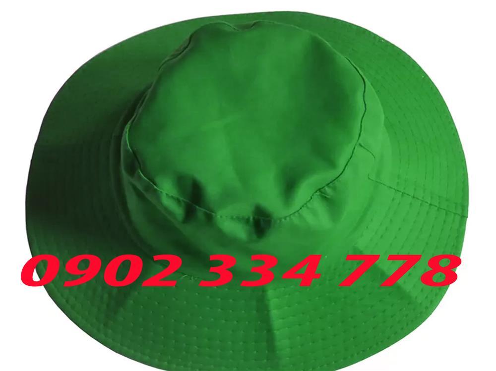 xưởng may nón tai bèo màu xanh lá giá rẽ